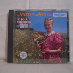 Vand CD Stefanie Hertel-So A Stuckerl Helle Welt, original! - Muzica Pop warner