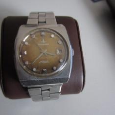 DUGENA MONZA CEAS AUTOMATIC ANII 70 - Ceas barbatesc, Casual, Mecanic-Automatic, Inox, Data