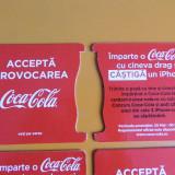 SET 50 BISCUITI COCA-COLA - PENTRU SUPORT PAHARE SI CANI