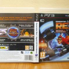 Generator Rex: Agent of Providence  (PS3 ) ( ALVio) + sute de alte jocuri PS3  (VAND / SCHIMB)