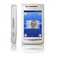 Vând Sony Ericsson XPERIA X8 - Telefon mobil Sony Ericsson Xperia X8, Alb, Orange