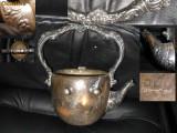 Superb ceainic englezesc argintat, inceput sec. XIX