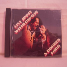 Vand CD JImmy Witherspoon &Robben Ford-Live, original!! - Muzica Pop ariola