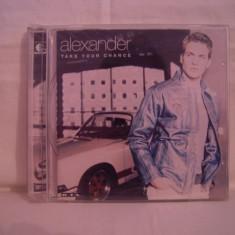 Vand CD Alexander-Take Your Chance, original-10 roni!! - Muzica Pop ariola