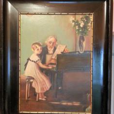 Frumoasa pictura veche, Scene gen, Ulei, Altul