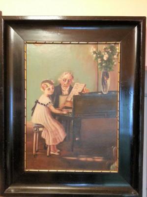 Frumoasa pictura veche foto