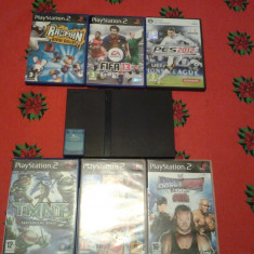 PS2 + jocuri noi+CARD - PlayStation 2 Sony