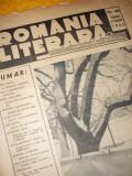ROMANIA LITERARA - No. 40 { DUMINICA, 14 IANUARIE 1940 - DIRECTOR CEZAR PETRESCU}