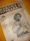 ROMANIA LITERARA - No. 48 { DUMINICA, 10 MARTIE 1940 - DIRECTOR CEZAR PETRESCU}