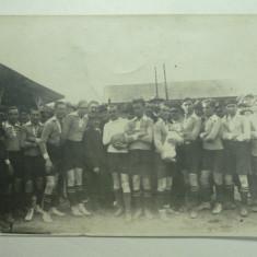TURDA - ECHIPA DE FOTBAL - PERIOADA INTERBELICA ? - Carte Postala Transilvania dupa 1918