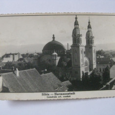 C.P.SIBIU CENZURATA DIN 1941 - Carte Postala Transilvania dupa 1918