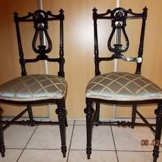 PERECHE SCAUNE + MASUTA - carti de TAROT - STIL - ROCOCO LIRA - REDUCERE !, 1800 - 1899