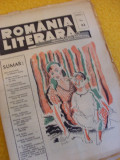 ROMANIA LITERARA - ANUL I, NR. 22 { 1939 - DIRECTOR CEZAR PETRESCU}