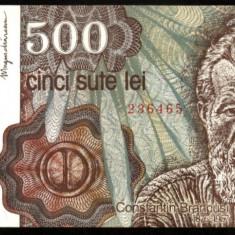 500 LEI 1991 ianuarie UNC necirculata - Bancnota romaneasca