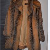 Palton dama blana naturala provenienta Austria marime L-XL