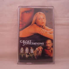 Vand caseta audio Great Expectations-The Album, originala, soundtrack - Muzica soundtrack warner, Casete audio