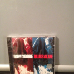GARY MOORE - BLUES ALIVE (1993/VIRGIN REC/RFG) gen:ROCK - cd nou/sigilat - Muzica Rock virgin records