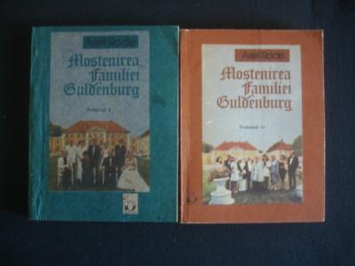 AXEL RODE - MOSTENIREA FAMILIEI GULDENBURG  2 volume {1991} foto