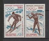 Republica Centrafricana.1968 Olimpiada GRENOBLE si MEXICO  SA.162