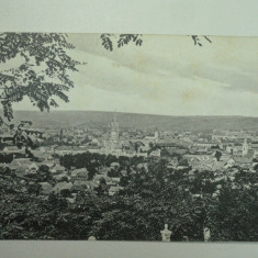 TURDA - VEDERE GENERALA - PERIOADA INTERBELICA - Carte Postala Transilvania dupa 1918