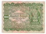 AUSTRIA 100 KRONEN 1922 F