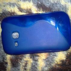 Husa Silicon Samsung Galaxy Mini2 S6500 Albastru