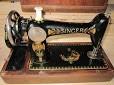 Masina de cusut Singer, veche