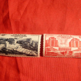 Serie Adunarea ONU 1948 Franta, 2 val.