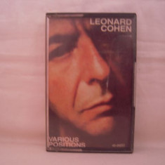 Vand caseta audio Leonard Cohen-Various Positions, originala, raritate! - Muzica Pop Altele, Casete audio