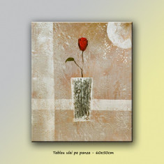 Trandafir modern (1) - tablou 60x50cm LIVRARE GRATUITA 24-48h