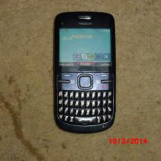 Nokia c3 - Telefon mobil Nokia C3, Negru, Neblocat