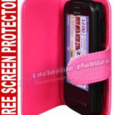 Husa toc Nokia C6 + folie ecran + expediere gratuita - sell by PHONICA