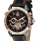 Ceas de lux Calvaneo 1583 Astonia 5 Rose Gold Black, original, nou, cu factura si garantie!