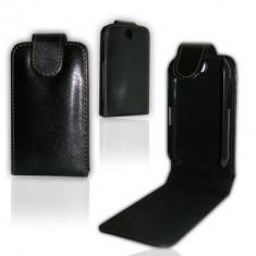 Husa toc LG Optimus Me p350 + folie ecran + expediere gratuita Posta - sell by PHONICA - Husa Telefon LG, Negru, Piele Ecologica