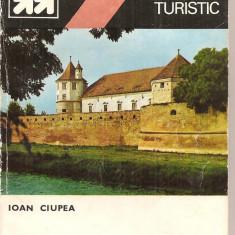 (C4667) MIC INDREPTAR TURISTIC. FAGARAS DE IOAN CIUPLEA, EDITURA SPORT-TURISM, 1983 - Ghid de calatorie