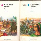 (C4656) CELE DOUA DIANE DE ALEXANDRE DUMAS, VOL. 1 SI 2, EDITURA EMINESCU, 1973, TRADUCERE DE TEODORA POPA MAZILU - Roman