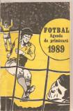 (C4647) FOTBAL. AGENDA DE PRIMAVARA 1989