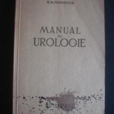 R. M. FRONSTEIN - MANUAL DE UROLOGIE {1952}