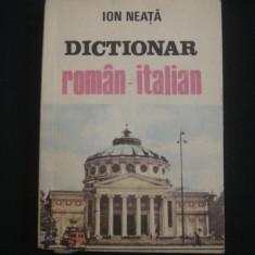 ION NEATA - DICTIONAR ROMAN ITALIAN {1991}