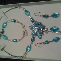 Set bijuterii Millefiori - Set bijuterii handmade si fashion