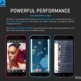 BLU Studio 5.5 SMart DUAL SIM - Telefon mobil Dual SIM, Gri, 4GB, Neblocat, Quad core