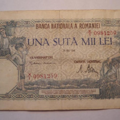 100000 lei 1946 Mai - Bancnota romaneasca