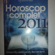 HOROSCOP COMPLET 2011 - KRIS BRANDT RISKE - Carte astrologie Altele