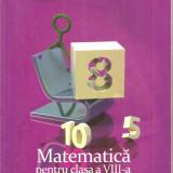 (C4633) MATEMATICA PENTRU CLASA A VIII-A, PARTEA I, DE MIRCEA FIANU, MARIUS PERIANU SI DUMITRU SAVULESCU, EDITURA CLUBUL MATEMATICIENILOR, 2012 - Carte Matematica