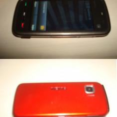 Vand/Schimb Nokia 5230 si Nokia 101 (Dual SIM) - Telefon mobil Nokia 5230, Negru, Vodafone