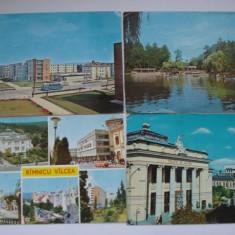 Vederi - RAMNICU VALCEA - Carte Postala Oltenia dupa 1918, Circulata, Fotografie