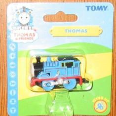 Thomas the Tank Engine Tomy Wind-Up trenulet - locomotiva THOMAS - in ambalajul original - ( transport 2.6 RON la plata in avans ) - NOU, Plastic, Unisex