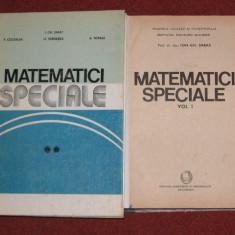 Ion Gh. Sabac - Matematici speciale - vol. I si ll - Carte Matematica