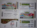 Lot 6 bilete meciuri internationale fotbal - Nationala Romaniei