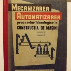 MECANIZAREA SI AUTOMATIZAREA PROCESELOR TEHNOLOGICE IN CONSTRUCTIA DE MASINI - A.P. IVANOV